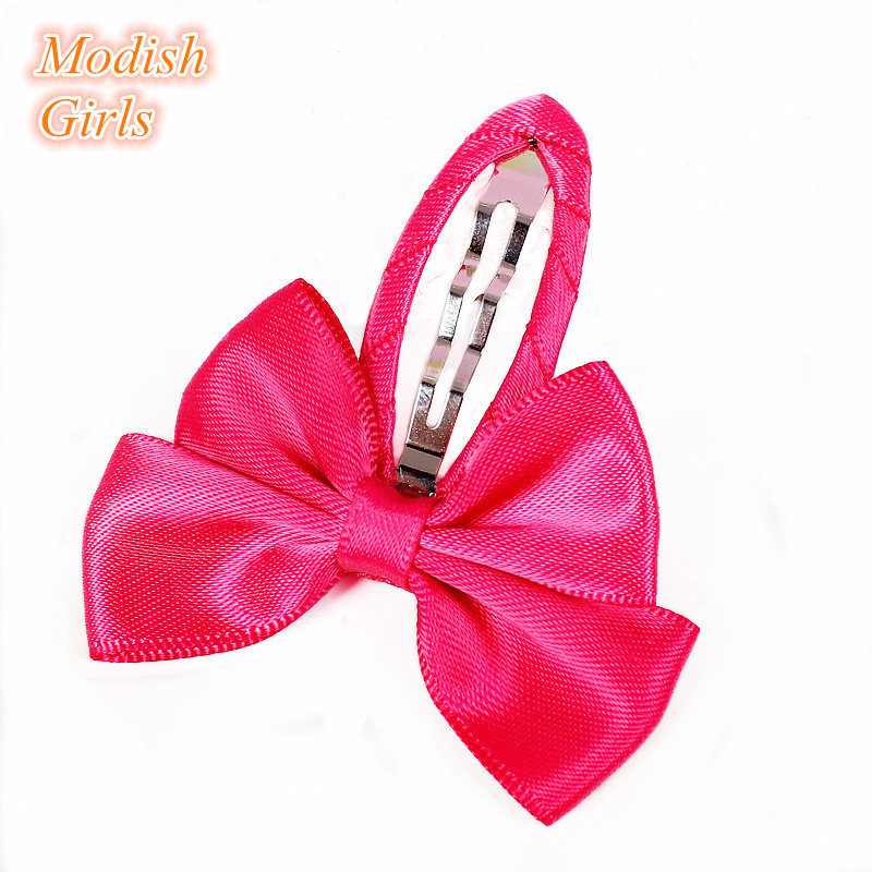 Red Bows Hair Clips New Chinese Popular Style Korean Bow Design Kids Hair Grips Christmas Party Hair Clip Hair Accessores