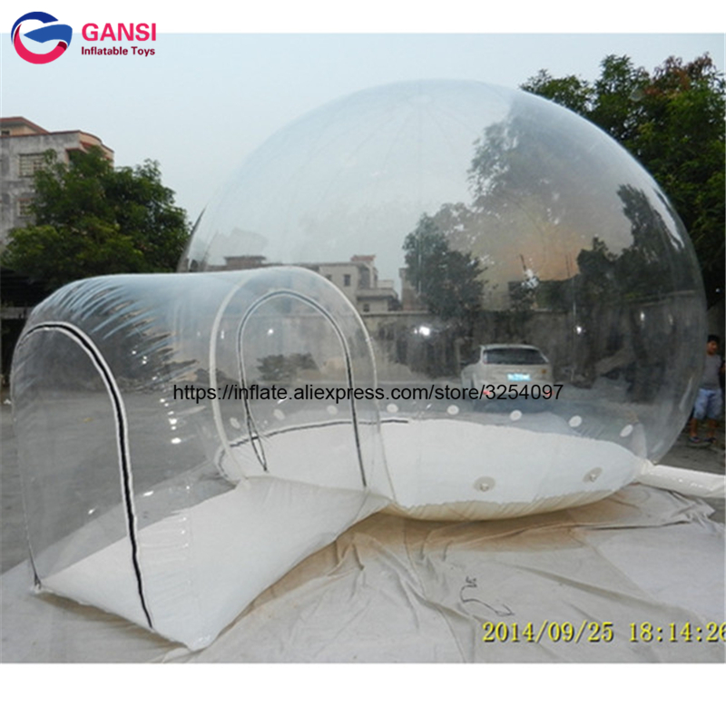 3m PVC good show giant clear dome tent used outdoor inflatable igloo beach tent promotional high quality inflatable tent camping inflatable cartoon customized advertising giant christmas inflatable santa claus for christmas outdoor decoration