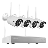 ANNKE 1 3MP Plug And Play Wireless NVR Kit P2P 960P 720P HD Outdoor IR Night