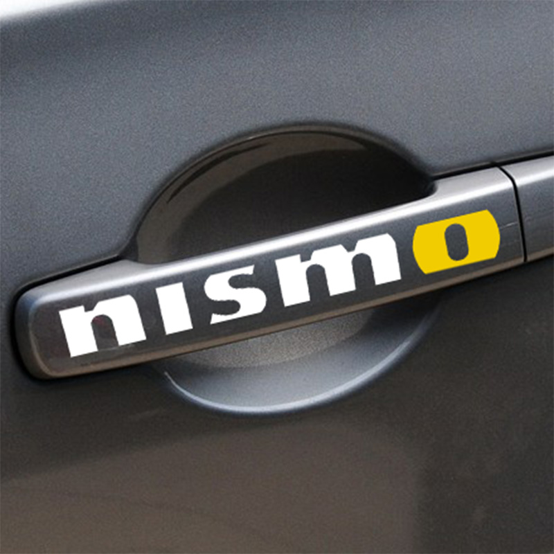 5 Sets NISMO Handdoor Car Styling for NISSAN QASHQAI JUKE X-TRAIL TIIDA ALMERA NOTE PRIMERA MARCH TEANA accessories