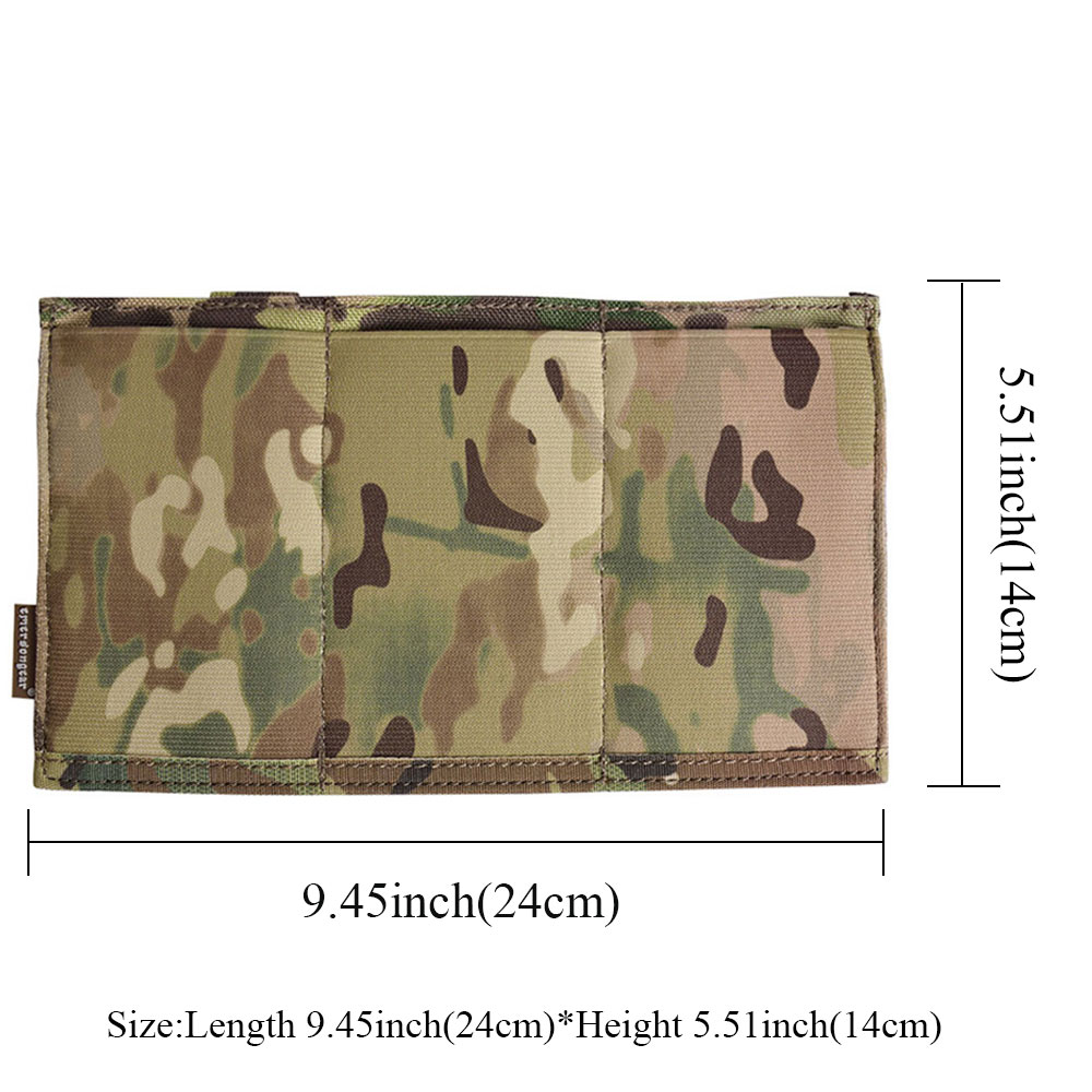 EMERSONGEAR Triple M4 Mag Pouch Tactical Molle Snabblastning Magazine - Jakt - Foto 4