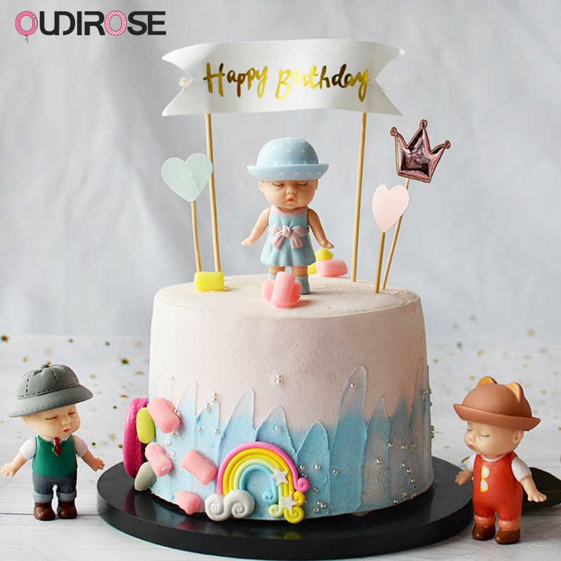 Magnificent Sleeping Cute Doll Yarn Ball Light Happy Birthday Cake Topper Girl Birthday Cards Printable Nowaargucafe Filternl