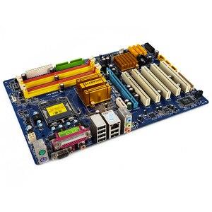 Image 3 - Gigabyte GA P43 ES3G REV 1.0 Desktop Motherboard P43 ES3G P43 Socket LGA 775 For Core 2 DDR2 16G ATX Original Used Mainboard