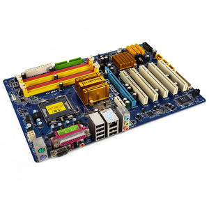 Image 3 - Gigabyte GA P43 ES3G REV 1.0 שולחן העבודה האם P43 ES3G P43 Socket LGA 775 עבור Core 2 DDR2 16G ATX מקורי בשימוש mainboard