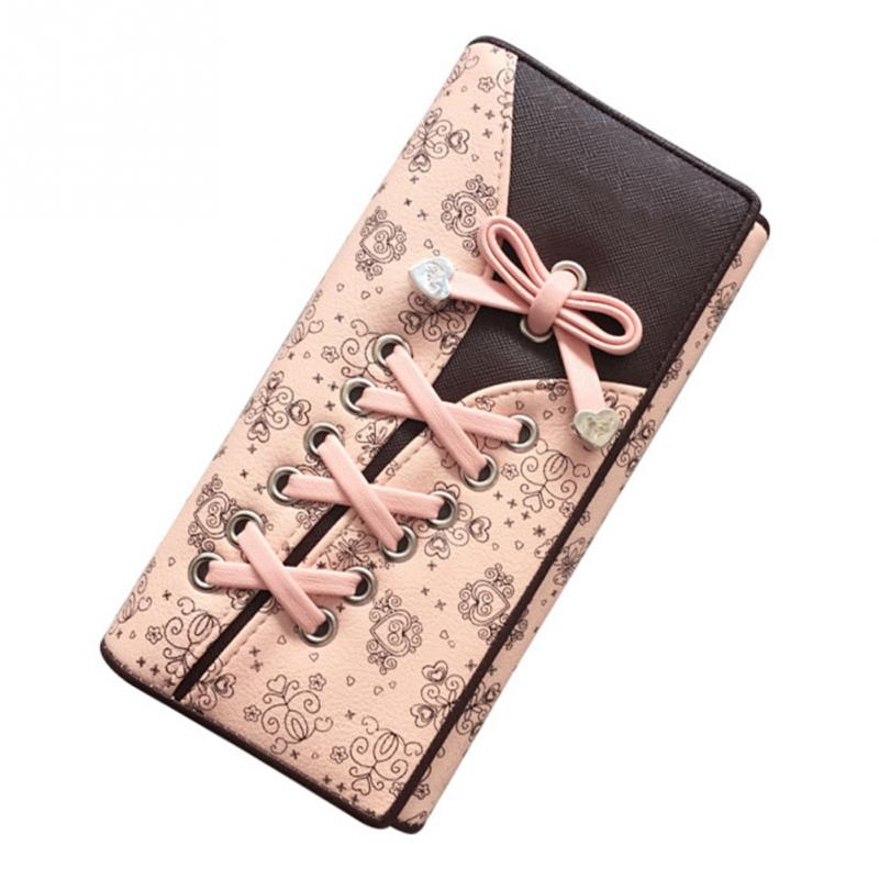 Fashion Women Wallets Brand Design High Quality Leather Wallet Female Hasp Vintage Long Wallets Purses