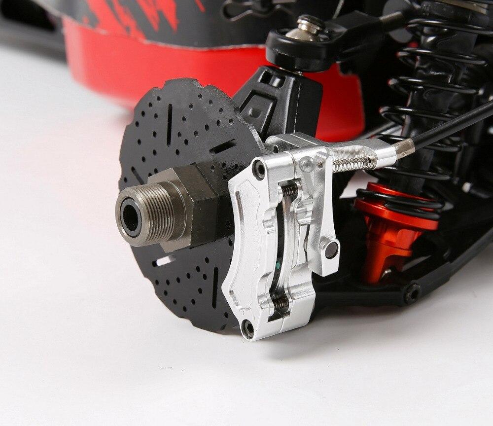 CNC hinterrad Draht Bremse kit für 1/5 hpi rovan km baja 5b RC AUTO teile - 2