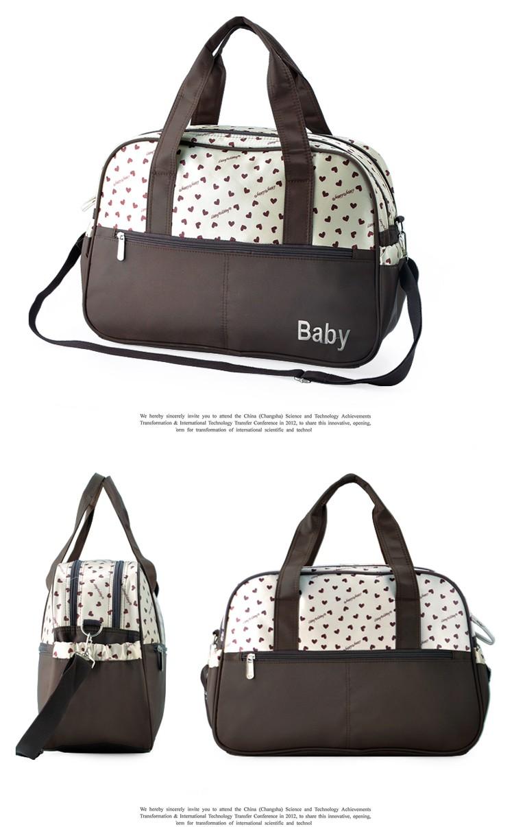 insular multifunctional diaper bags maternity mummy handbag baby care stroller bag High capacity mother Messenger nappy bags 14