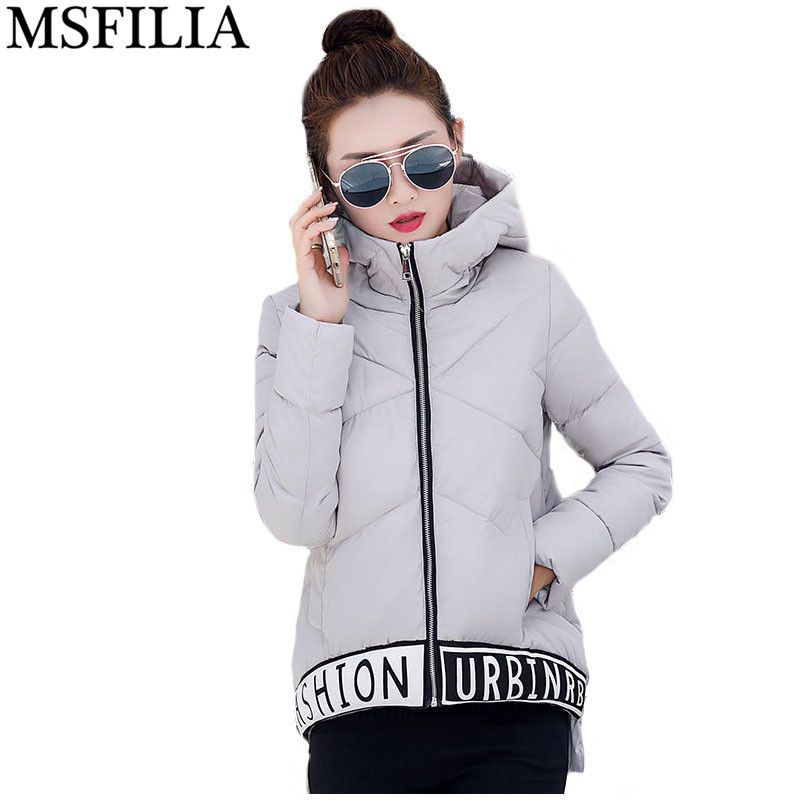 ФОТО 2016 New Winter Jacket Women Fashion Short Hooded Thick Warm Padded Coat Plus Size Winter Coat Women