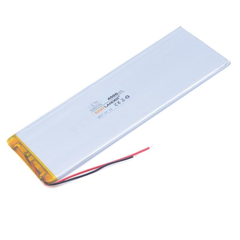 3263156 3,7 V 4000 mAh Wiederaufladbare li Polymer Li-Ion Akku Für Tablet PC CHUWI Hi8 hi8 pro xv8 DVD DVR 3565155 3263158