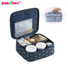 Memokey Multifunction Organizer Big capacity Waterproof Portable Cosmetic Bag Man Women Travel Necessity Beauty Makeup C