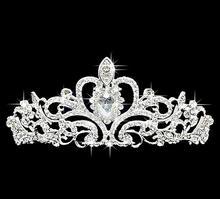 Free shipping Bridal Crystal Tiara Wedding Hair Accessories Jewelry Tiara And Crowns wedding princess headwear 3pcs/lot MYQC001