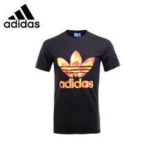 ADIDAS Original Mens T-shirt Short Sleeve Breathable  Cotton Spring&Summer For Men
