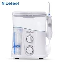 Nicefeel EU Plug 1000ml High volume Reservoir Dental Water Jet Oral Care Teeth Cleaner Irrigator Removes plaque of teeth