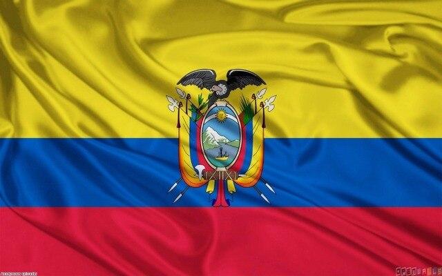 ECUADOR POLYESTER INTERNATIONAL COUNTRY FLAG Indoor Outdoor The - Ecuador flags