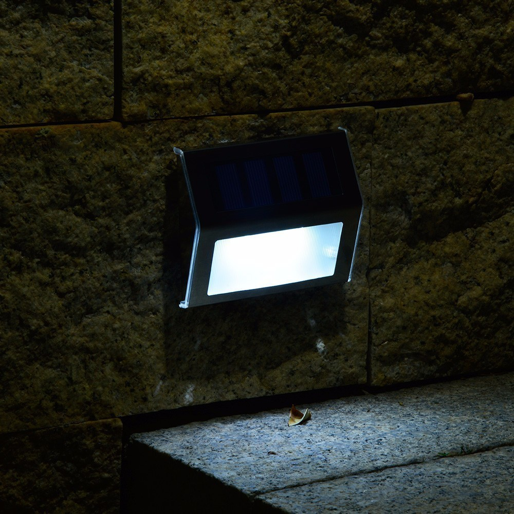 Lamparas Led Para Patios O0o 10 Piunidades Asled Luces De Escalera De Energía Solar Luces