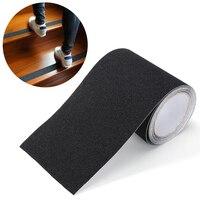 5 m x 15 cm impermeável anti adesivos de fita deslizante para escadas piso banheiro cozinha decking tiras (preto) apto para escada, passos, passo