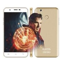 Оригинал OUKITEL U7 Плюс 5.5 «дюймовый HD MTK6737 Quad Core 2 ГБ RAM 16 ГБ ROM 13MP Android 6.0 4 Г Смартфон Разблокирована Мобильного телефона