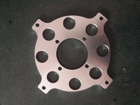 aluminum wheel adaptor for dax for 10 inch and 12 inch rim for dax wheel cnc adaptor