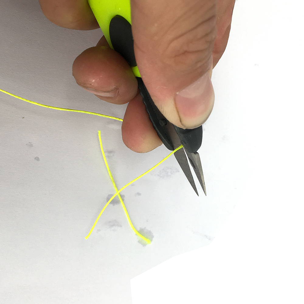 1pc Fold Fish Scissor Fishing Tackle for Fishing Clipper Cutting Line Multi-purpose Portable 4