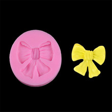 Silicone Mold 1 pc bow knot silicone mold mould sugar craft fondant cake decorating Sugarcraft baking tool