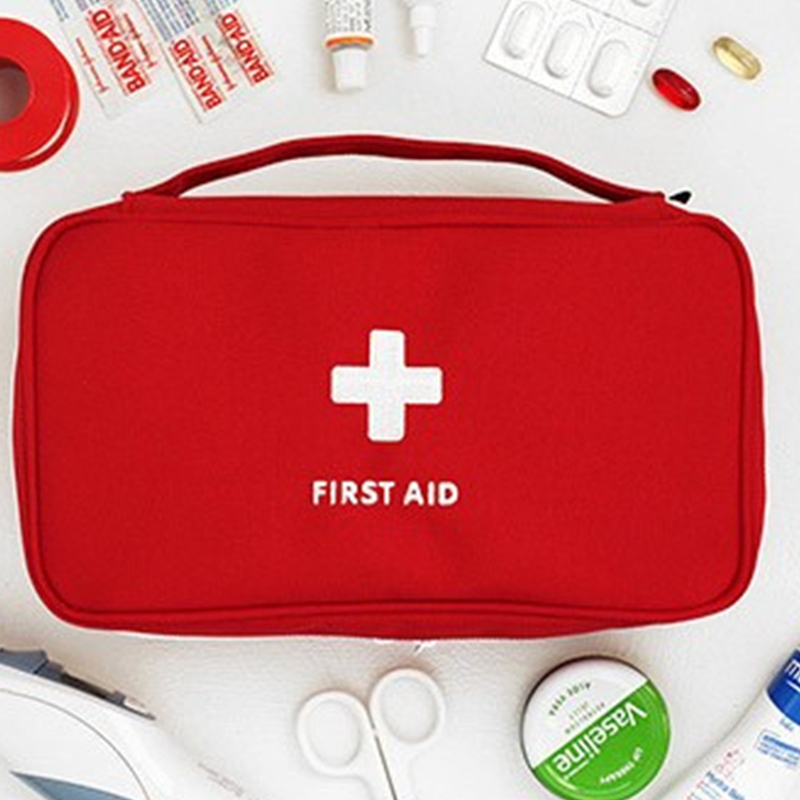 Back To Search Resultssports & Entertainment Outdoor Portable First Aid Kit Emergency Medical Bag Waterproof Car Kits Bag Travel Survival Kit Empty Bag Househld Fine Workmanship
