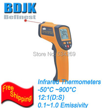 Best Buy Pocket Infrared Thermometers -50~900 Temperature Tester Economic Instrument with Alarm Function