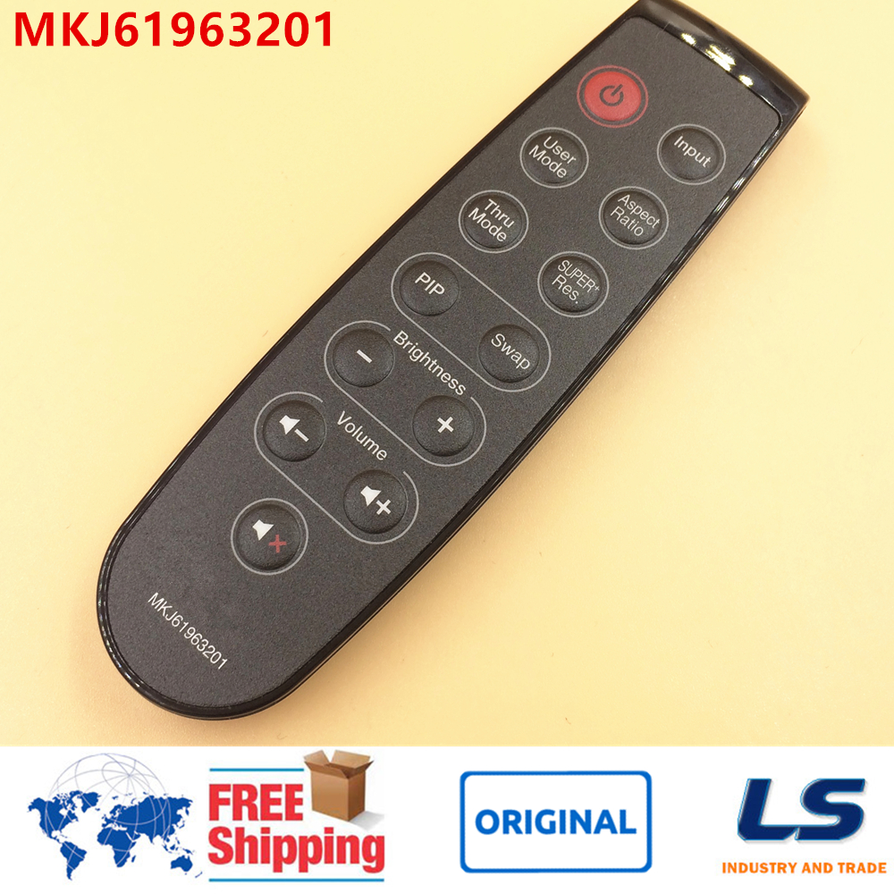 US $10 0 |BRAND NEW & ORIGINAL REMOTE CONTROL MKJ61963201 FOR LG LCD LED  MONITOR E2370VBF E2370VBF E2370VBFAEU E2770VBF E2770VBFAEU-in Remote  Controls