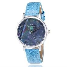 TOP Brand Women's Watches Fashion Casual Quartz Wrist Watch Watch Retro Leather watchbands Round Female Watches montre femme