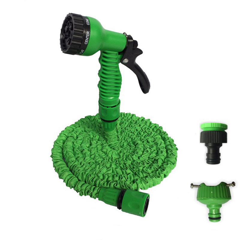 . US  4 29 42  OFF 25 150FT Expandable Magic Flexible Garden Water Hose For  Car Hose Pipe Plastic Hoses garden set To Watering With Spray Gun in Garden