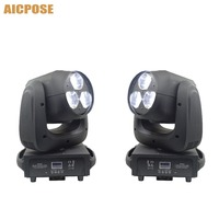 2pcs/lots Beam Light 3x40W RGBW 4IN1 LED Bee Eyes Moving Head With Zoom Stage Lights Disco Bar Light