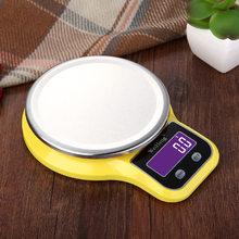 Kitchen Scale Electronic-Platform-Scale Digital Stainless-Steel New Mini LCD Oz/lb