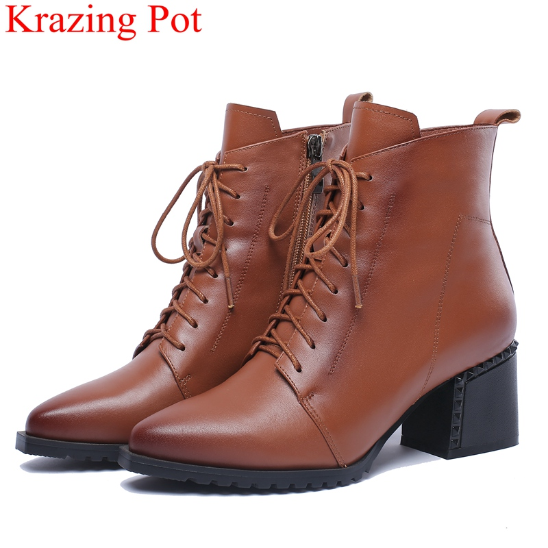 2018 superstar large size genuine leather high heels ankle boots zipper solid motorcycle boots women keep warm winter shoes L38 2018 superstar large size genuine leather high heels ankle boots zipper solid motorcycle boots women keep warm winter shoes L38