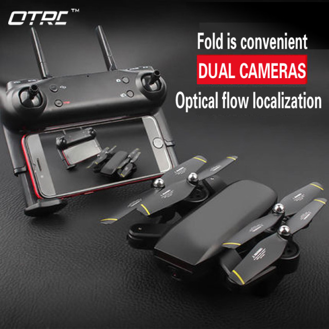 d107 Camera Drone With Camera HD Dron Optical Flow Positioning Quadrocopter Altitude Hold FPV Quadcopters Folding RC Helicopter
