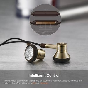 Image 4 - 1MORE EO320 Piston Earphone for phone with Mic In Ear Bests Wired Earphones for Android & iOS Mobile Phones Xiaomi 1MORE DESIGN
