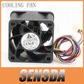Frete Grátis Para Delta FFB0412SHN 12 V 0.60A 40mm 4 cm DC PWM inversor servidor caso axial ventiladores de refrigeração