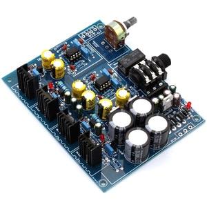 Image 4 - Hoofdtelefoon Versterker Board NE5532 BD139 BD140 voor 32 600 Ohm Speaker AC 12V 0 12V of AC15V 0 AC15V Hoofdtelefoon Amplificador