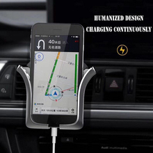 Universal Car Phone Holder Air Vent Gravity Phone Outlet Car Holder Mount For iPhone XS MAX X 8P For Samsung S9 Plus S8 Stand car air outlet swivel mount holder for samsung galaxy s i9000