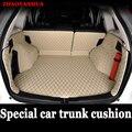 Пользовательские подходящие автомобильные коврики для багажника Honda CRV прочные кожаные багажные коврики полностью окруженные автомобильн...