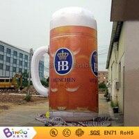 Реклама 5 м Высокое надувные Кубок пива со светодиодной подсветкой для Октоберфест партии Конструкторы bg a0159