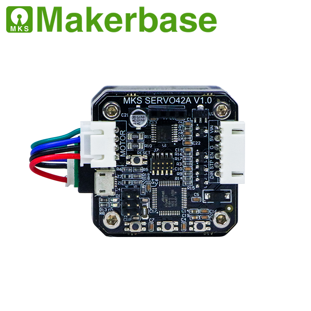 Makerbase MKS SERVO42A NEMA17 closed loop stepper motor Driver CNC 3d printer parts prevents losing steps for Gen_L SGen_L