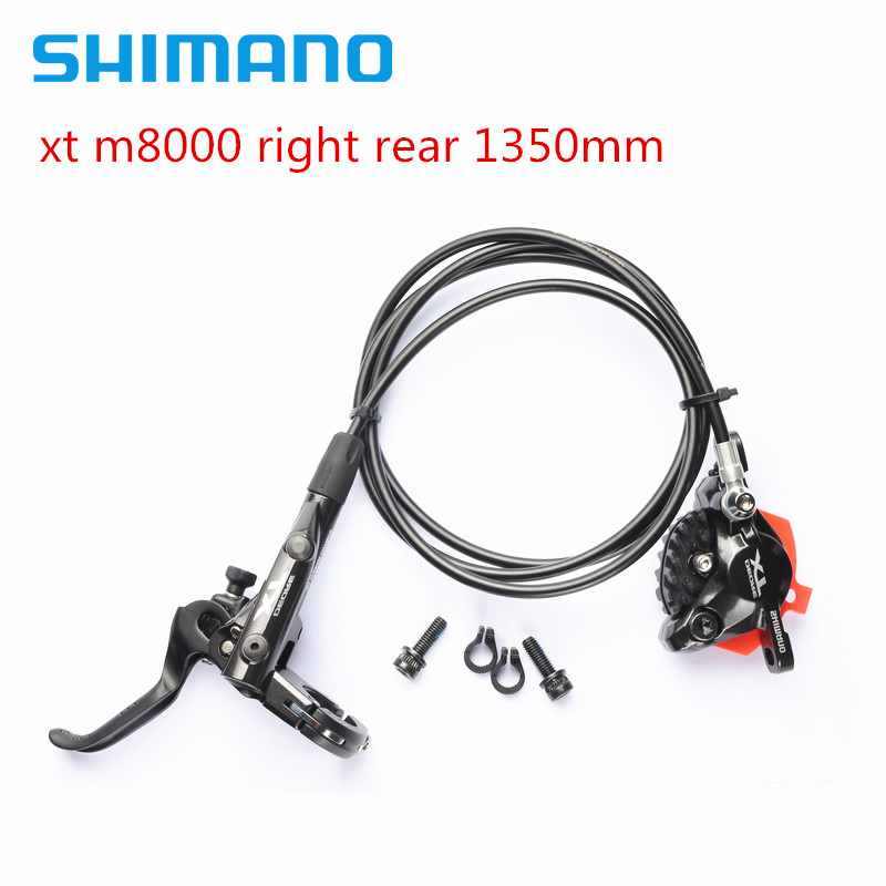 shimano xt m8000 bike bicycle mtb Hydraulic Disc Brake right rear 1350mmshimano xt m8000 bike bicycle mtb Hydraulic Disc Brake right rear 1350mm