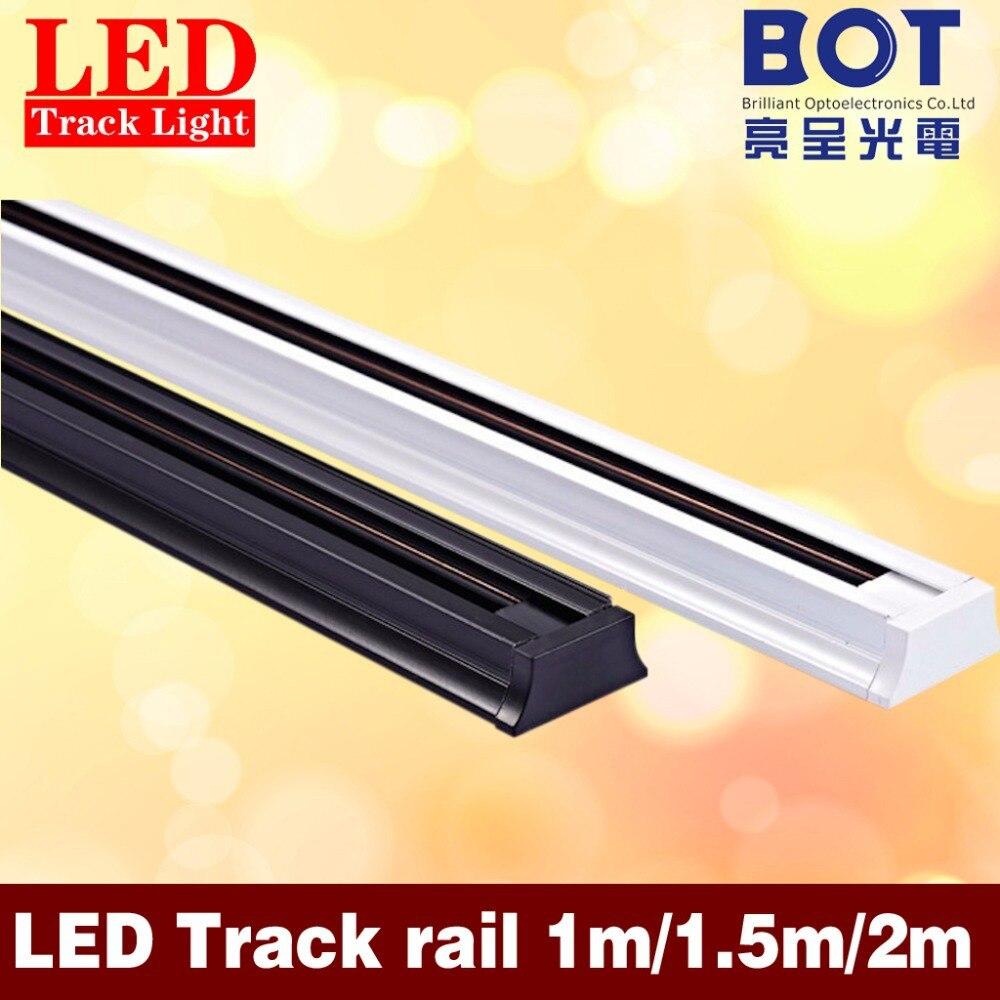 1m Led Track Light Rail Universal Rails Aluminum