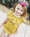 2016 popular do Verão Macacão de Bebê da criança do bebê Meninas bonitos jumpsuits Rompers babygirls bonito Macacões rompers Infantis