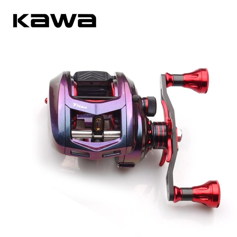 KAWA Fishing Reel Bait cast Reel, Gear Ratio 7.1:1 Bait casting Magnetic Brake Bearing 11+1 290g Max Drag 11KG sea fishing reel
