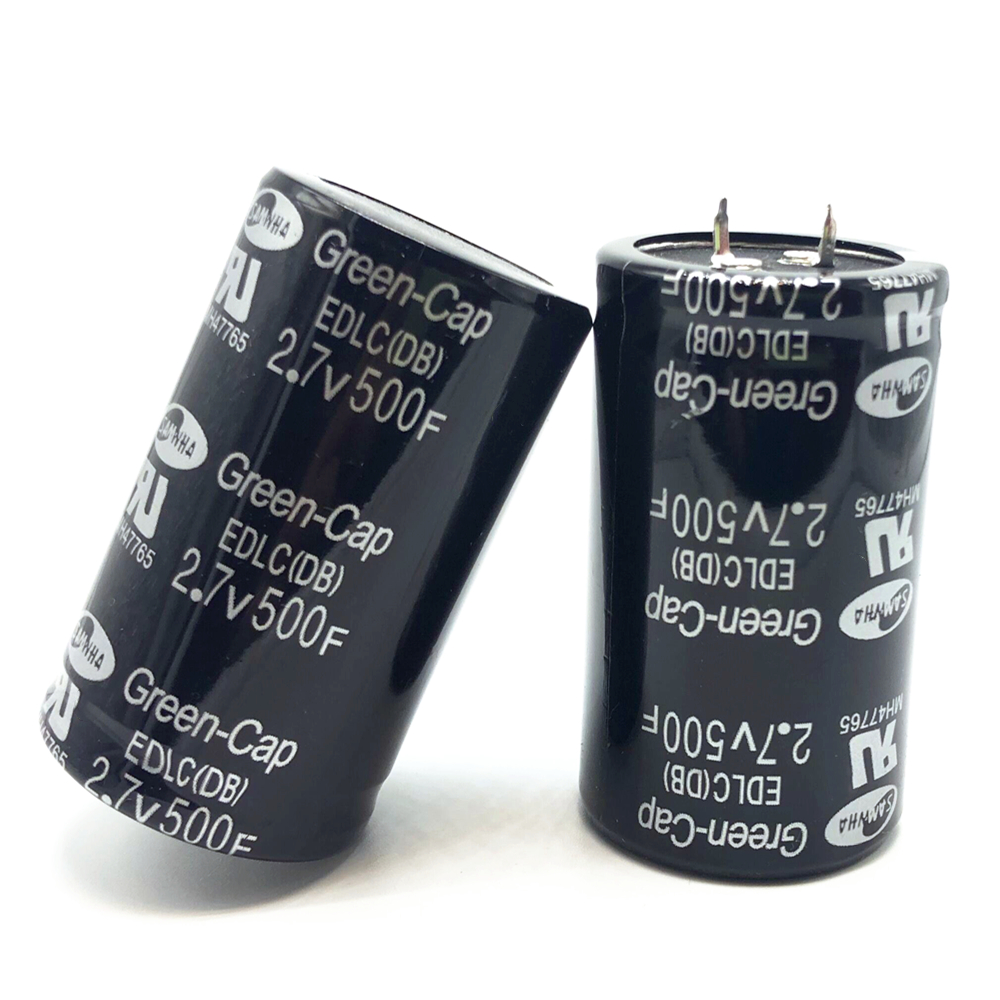 Original Farad Capacitor 2.7V 500F 35*60MM Capacitors Through Hole General Purpose 2.7V500F Capacitors Two Feet Four Feet 20%