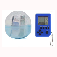 Classical Game Tetris Electronic Mini Cyber Machine Education Toys For Kids Keychain Gifts toys