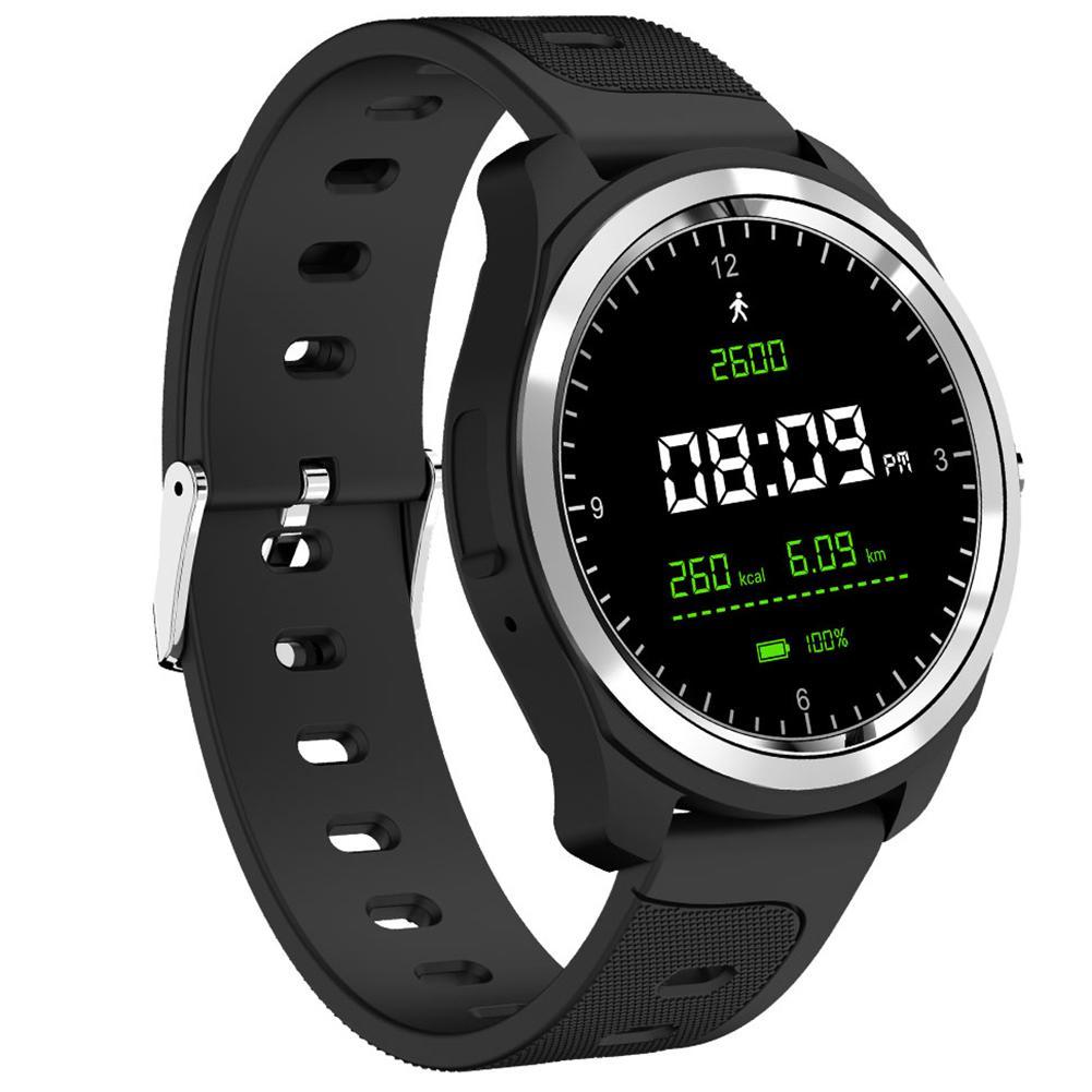 KW05 Smart Bracelet Blood Pressure Oxygen Heart Rate Sleep Monitor HD Bluetooth Call Multiple Sports Modes Watch