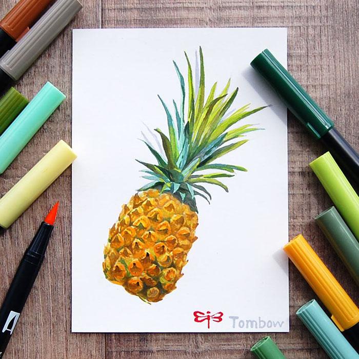 Japan Tombow Dual Brush Pen ABT Colorful Drawing Marker Pens Set
