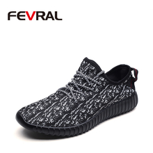 FEVRAL New High Quality Couple Shoes Non Slip Breathable Sneaker For Men Women Wear resistant Shoes Lightweight Chaussures homme