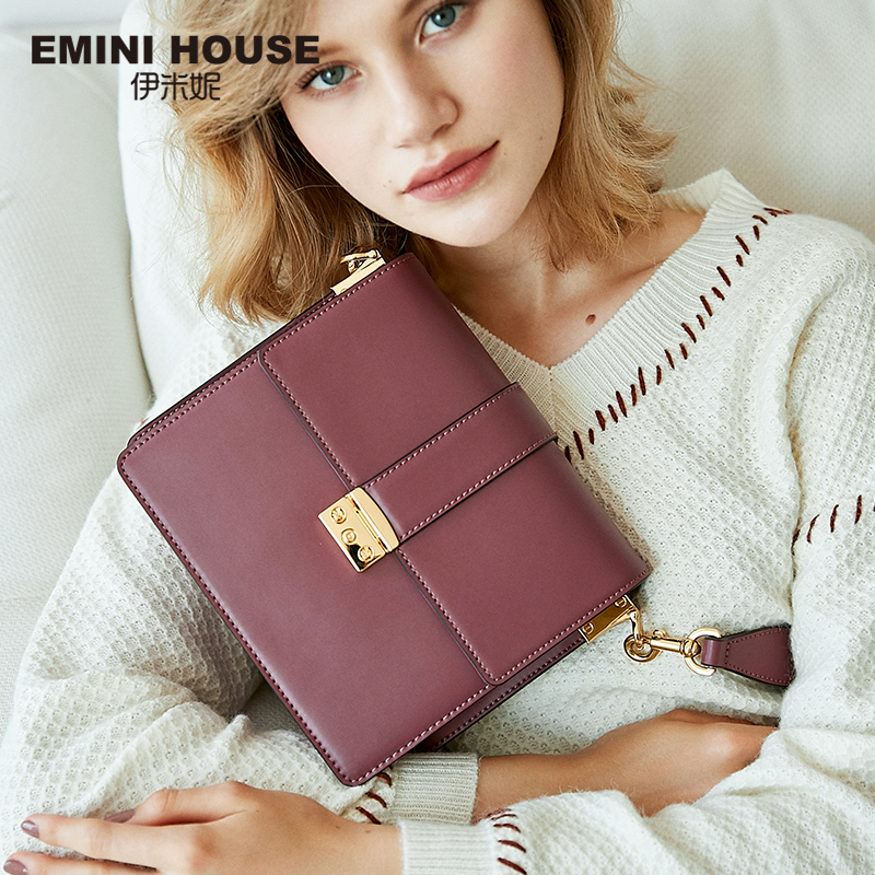 EMINI HOUSE Crossbody Bags For Women Luxury Handbags Women Bags Designer Padlock Split Leather Shoulder Bag Messenger BagEMINI HOUSE Crossbody Bags For Women Luxury Handbags Women Bags Designer Padlock Split Leather Shoulder Bag Messenger Bag